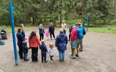 Druhý školní rok v lese na Lapáku